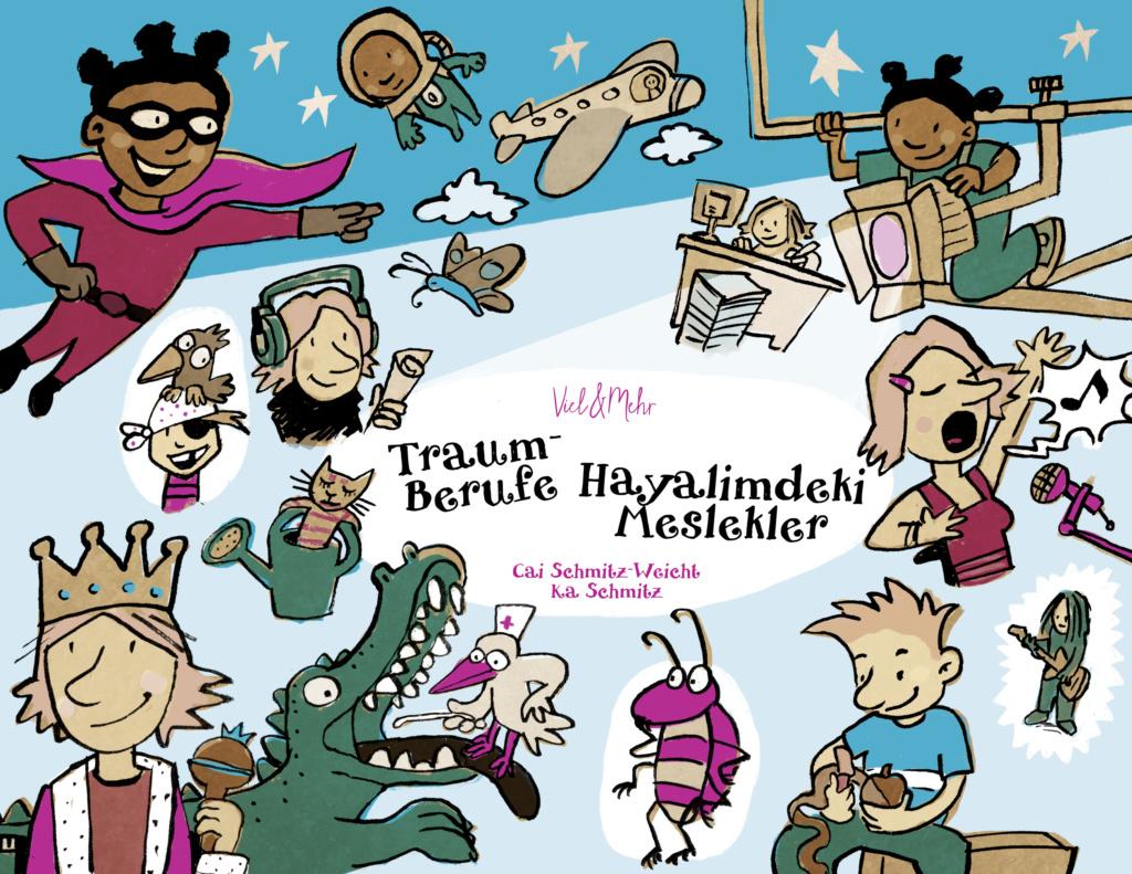 VIEL & MEHR Traum-Berufe türkisch-deutsch
