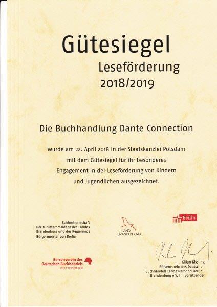Gütesiegel2018_Urkunde